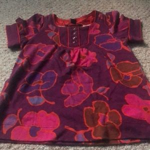 Marc by Marc Jacobs flower shirt w/buttons -LN
